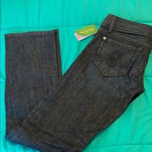 Lilly Pulitzer NWT Straight Leg Jeans Size 4